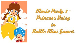 Mario Party 3 - Princess Daisy in Battle Mini Games