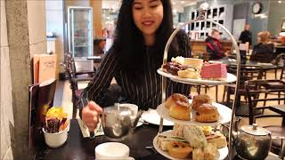Afternoon tea at Patisserie Valerie in Aberdeen