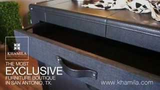 Tufted Bedroom Set At Khamila Furniture Boutique