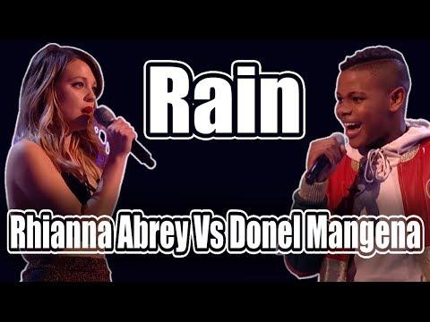 Rain (The Script) | Rhianna Abrey Vs Donel Mangena (Lyrics)