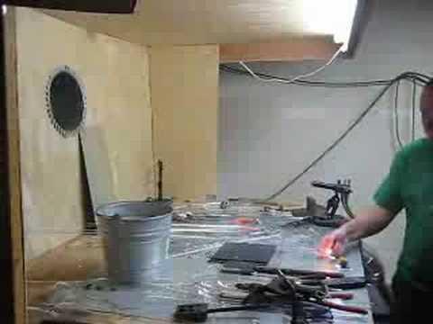ventilation hood smoke bomb test youtube. Black Bedroom Furniture Sets. Home Design Ideas