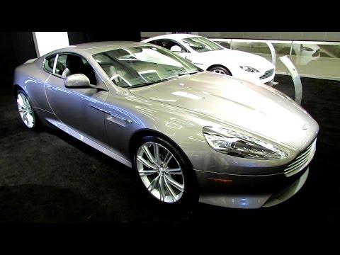 2014 Aston Martin DB9 - Exterior and Interior Walkaround - 2013 LA Auto Show