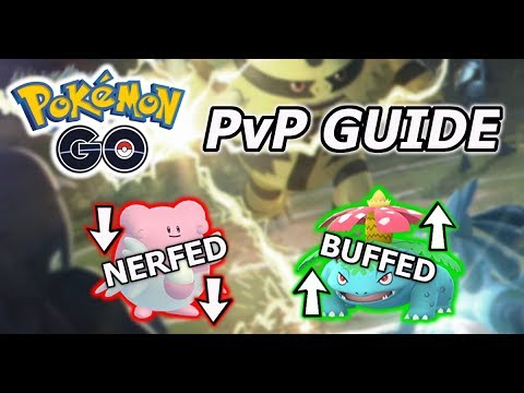 Pokemon GO PvP Update Guide | IT'S HERE thumbnail