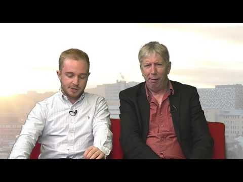 Sheffield Live TV Kevin Gage & Nigel Worthington #sufc #swfc 11.5.17 Arr 2