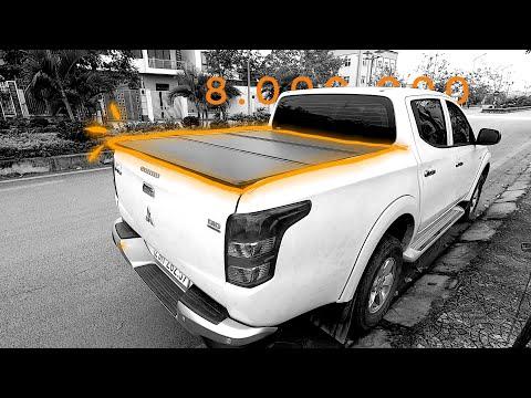 Review Nắp thùng 3 tấm trên Mitsubishi Triton   Các bác có đang chọn nắp thùng phù hợp không??!!