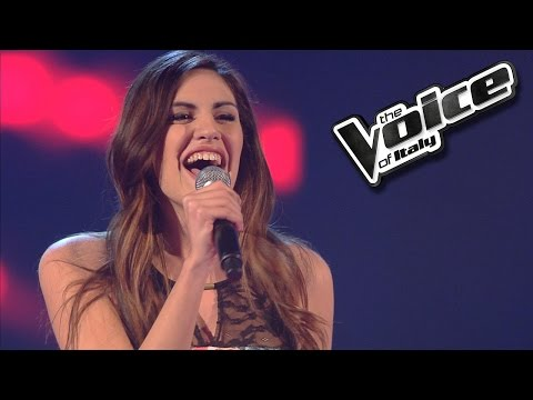 Giorgia Papasidero - Stand up for love | The Voice of Italy 2016: Blind Audition