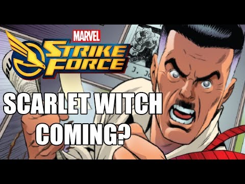 Marvel Strike Force - Scarlet Witch Confirmed? (13/07/18)