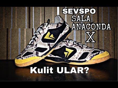 FUTSAL Sevspo SALA ANACONDA X (Unboxing) Sepatu Kulit ULAR?