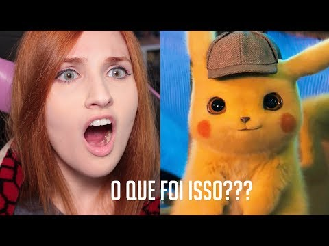 REAGINDO A DETETIVE PIKACHU | Live Action Pokemon