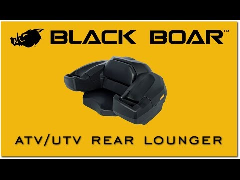 Black Boar S Atv Rear Lounger Youtube