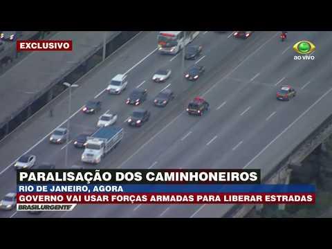 Greve: Forças Armadas Começam A Agir No RJ
