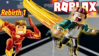 ROBLOX-Rebirth 1 Lightning must also greet the loser | Legends Of Speed