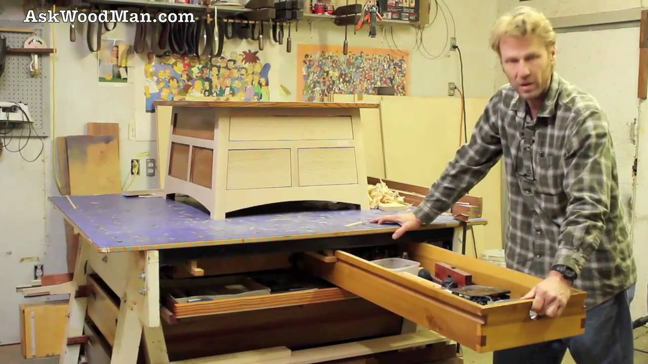 amazing Solid Hard Maple Workbench  by W00DY  LumberJockscom