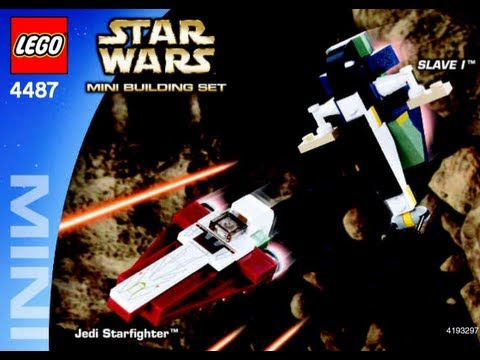 How To Build Lego Mini Jedi Starfighter Tm Slave I Tm 4487