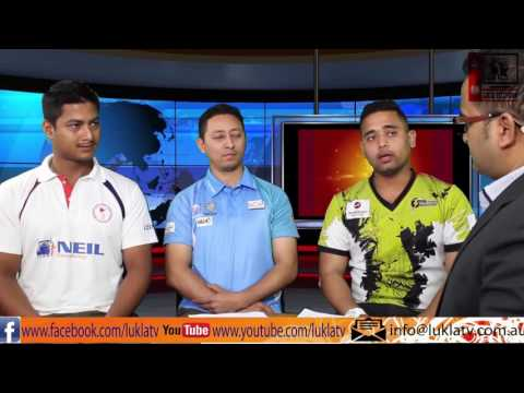 Soft Talk regarding  Nepalese Cricket in Australia with Durga Banjade @ LUKLA TV