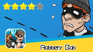 Robbery Bob Summer Camp Level 12 Walkthrough Prison Bob Recommend index four stars