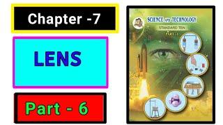 Part-6 ch-7 Lenses science class 10th new syllabus maharashtra board.
