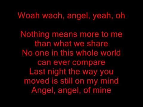 Angel of Mine  Eternal Lyrics