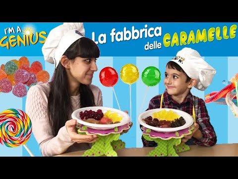 CHALLENGE indovina il gusto con la FABBRICA DELLE CARAMELLE!!!