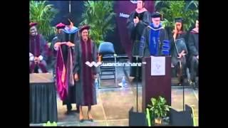 University of Phoenix Graduation - End of Commencement and Audience Capture