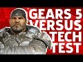 Gears 5 Versus Tech Test | GameSpot Community Fridays видео