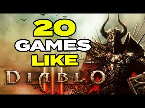 TOP 20 BEST Games Like Diablo 3 For Android & IOS | Action RPG Games