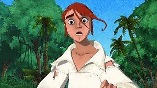 TREASURE ISLAND   Revenge of The Black Sails   Full Episode 25   Cartoon TV Series   English   HD