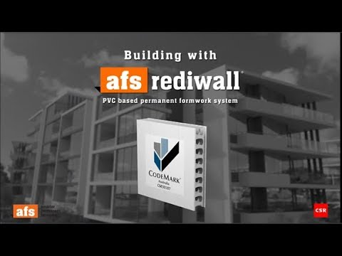 Permanent formwork system – Rediwall by AFS Systems – Selector