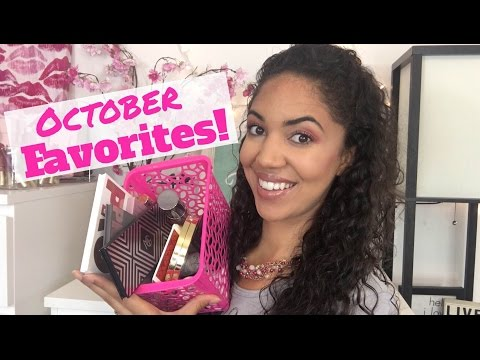 October Favorites - Monthly Beauty Favorites 2016 (Wedding Edition!!!)