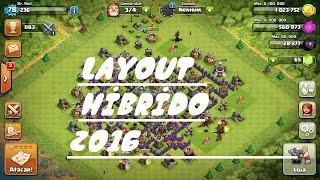 LAYOUT HIBRIDO cv8- SUPERCELL 2016