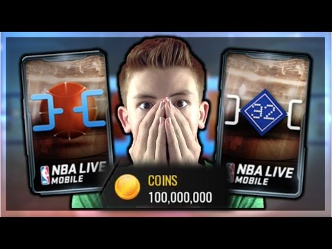 NBA LIVE MOBILE | ROUND OF 32 MOBILE MADNESS PACKS! 10 MIL ...