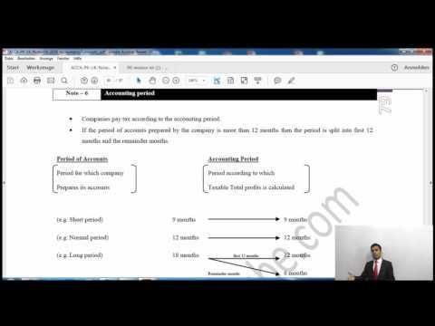 ACCA P6 UK | Corporation Tax | AccountancyTube.com