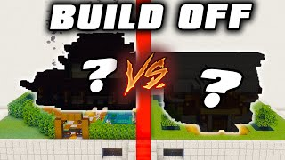 One Hour to Build the Best Minecraft House Challenge