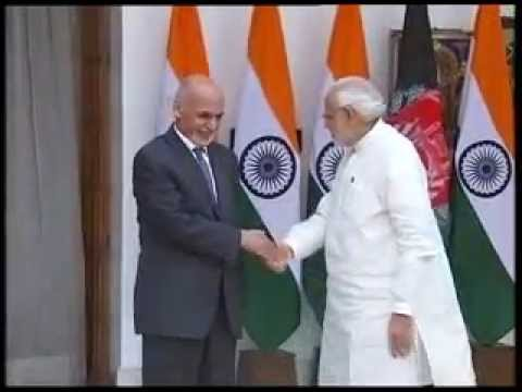 PM meets President of Afghanistan