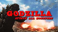 Godzilla – Attack All Monsters (Action ganzer Film, auf Deutsch)
