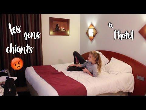 Ce que font les gens chiants à l'hôtel