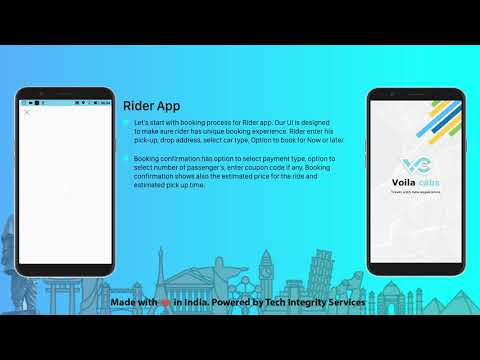 Uber OLA Careem Clone Ride-hailing  & Taxi Booking Software Solution - Voila Cab SaaS Version