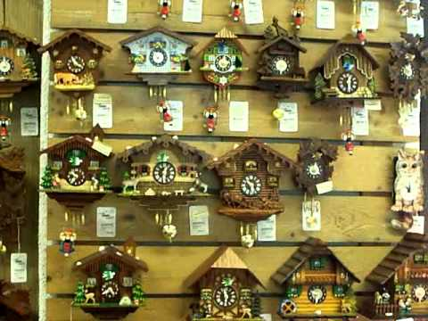 coo coo clocks in germany black forest