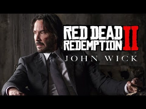 Red Dead 2 Online John Wick - Clears Out Some Bandits