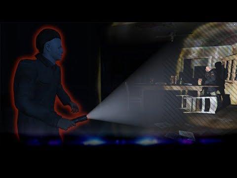 Enge man in verlaten villa! - Michael Myers - Verlaten Villa - Ep5 Noway (GTA 5 MP + Mods)