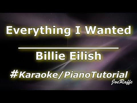 Billie Eilish - Everything I Wanted KaraokePiano Tutorial