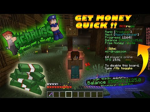 Best Ways To Make Money Quick On MC Drugs Server As A Criminal !!!!!!!