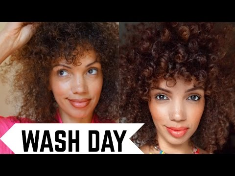 WASH DAY ROUTINE W/ VO5 | WASH AND GO