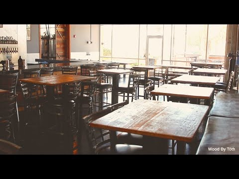 14 Reclaimed Wood Tables For a Brew Pub - Final Video