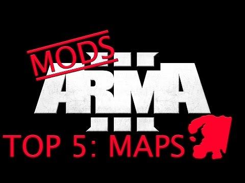 TOP 5 MAPS! | ARMA 3 Mod Lists