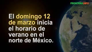 ¿Cuando inicia el horario de invierno en México 2017?