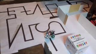 Line follower Robot using PID Control By HSTU LIGHT FOLLOWERS