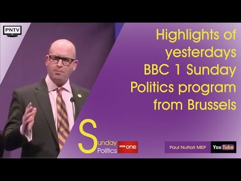 Paul Nuttall Sunday Politics