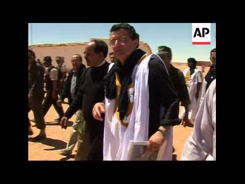The people of Western Sahara angry at Morocco's presence