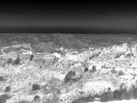 Fire Detection - Various Cameras - Gobi LWIR Fire Test
